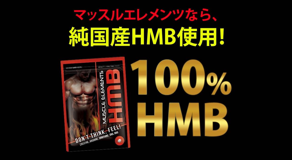 マッスルエレメンツHMBのHMBは国内産