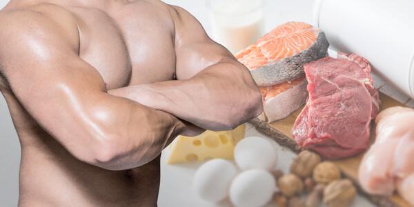筋肉食事で補う
