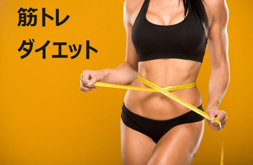 ダイエットは筋トレが成功のカギを握っています